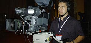 cadreur caméra plateau