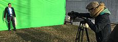 tournage fond vert
